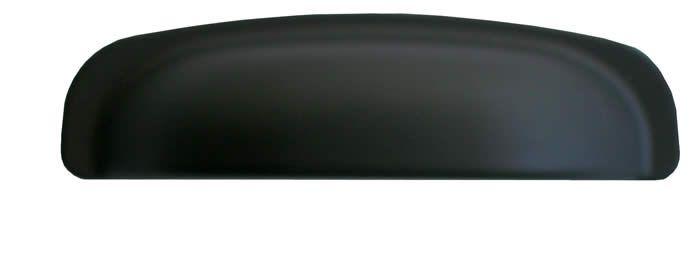 23065-94 Modanera Black Satin Finish Cabinet Cup Handle