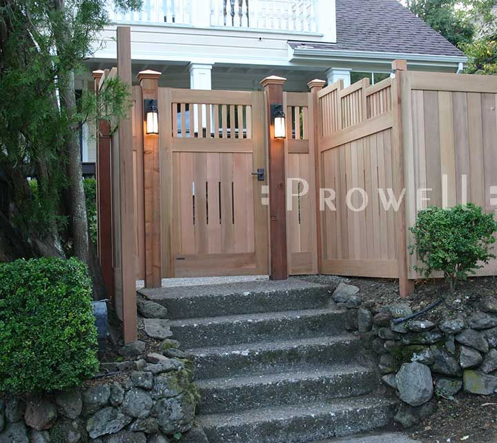 The first and original wood garden gate design by Prowell Woodworks 36 best Gate images on Pinterest   Fence ideas  Gate ideas and  . Exterior Gates Fences. Home Design Ideas