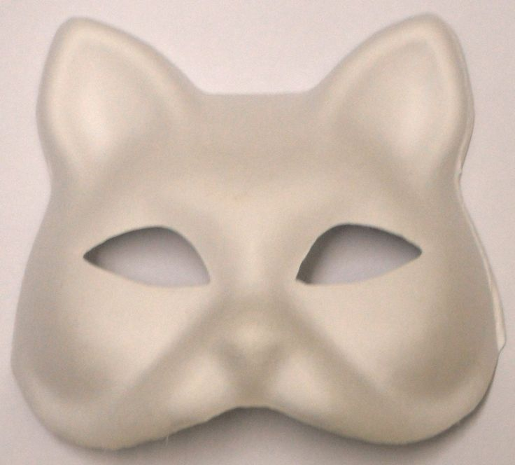 Plain Masks To Decorate Более 25 Лучших Идей На Тему «Cat Face Mask» На Pinterest