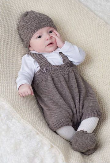 Baby pants and rompers knit pattern
