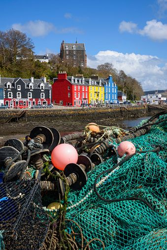 Tobermory harbour, Isle of Mull, Inner Hebrides, Argyll and Bute, Scotland.
