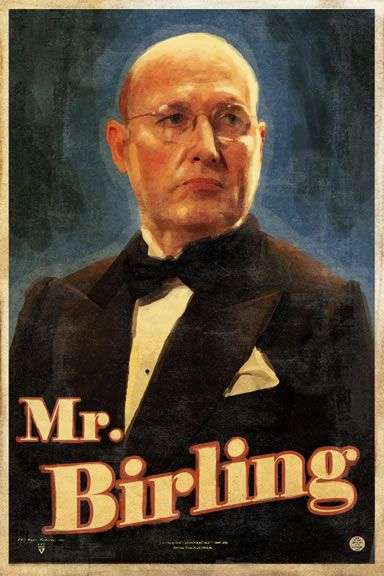 Mr. Birling is the man of the house and is an old, arrogant man. He's involved in Eva's death because he fires her from her job at his factory just because she went on strike for slightly higher wages.