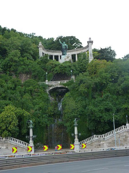 Statue of St. Gellert - Gellert Hill, Budapest, Hungary