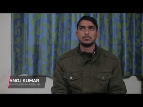 Manoj Kumar, ITeS Trainer, GSSS Dhaneta (HP) on benefits of vocational education…