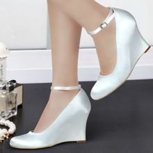 White wedge bridal shoes online shopping-the world largest white wedge bridal shoes retail shopping guide platform on AliExpress.com