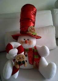 Resultado de imagen para imagenes de moldes de muñecos navideños