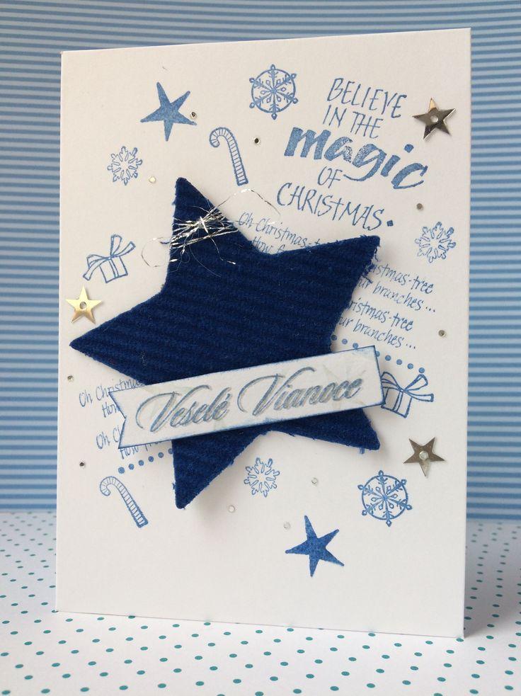 Christmas card Big star