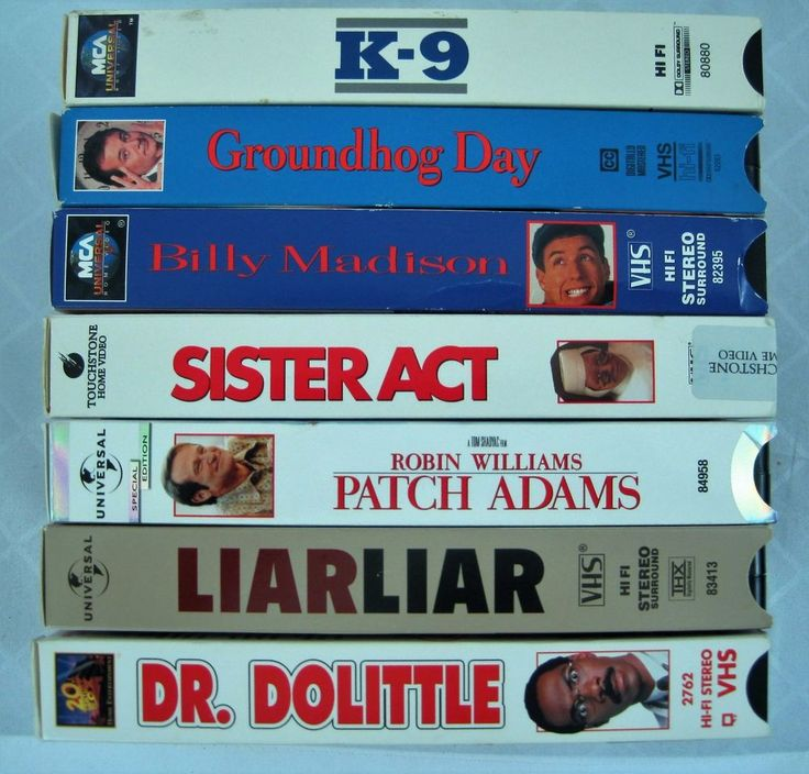 Liar Liar - Jim Carrey. Billy Madison - Adam Sandler. VHS LOT OF COMEDY CLASSICS. Patch Adam - Robin Williams. | eBay!