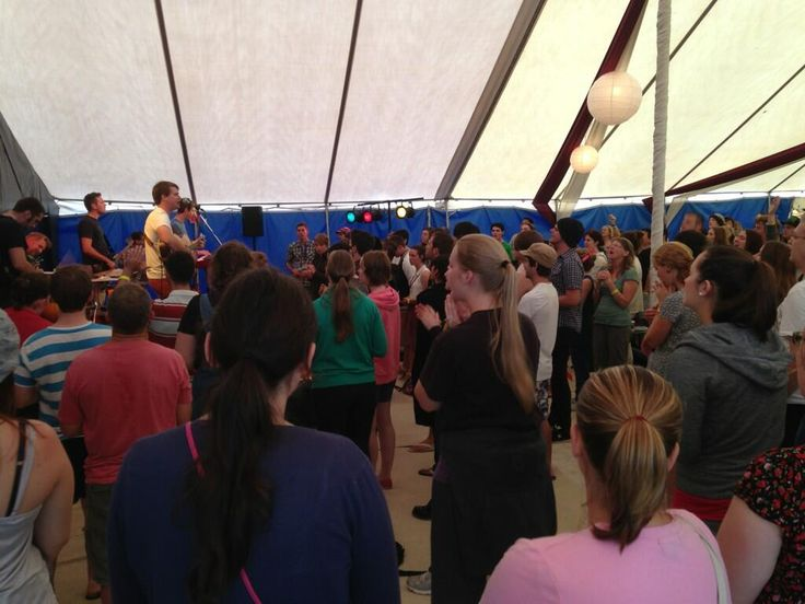 Lyle Shelton ‏@LyleShelton   Tent packed full of young people worshipping God as part of #easterfest morning devotions. pic.twitter.com/900QiL3C51