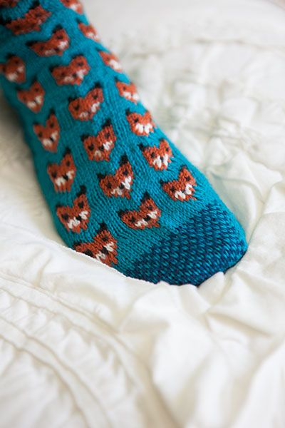 Foxy Sox Knitting Pattern.