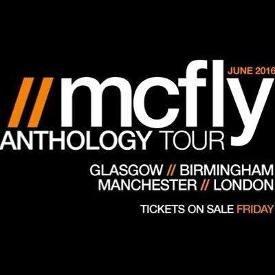 Mcfly tour