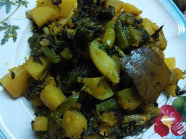 Mercury Information Management Platform: Poi Saag Bengali Style Mix Veg Recipe