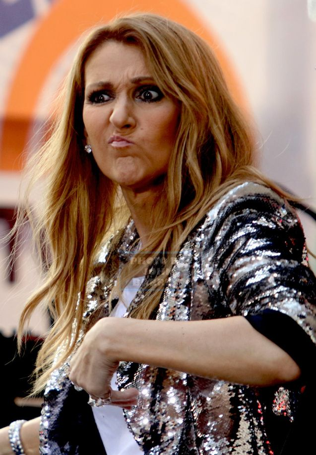 CELINE DION at NBC ''Today ''Show Concert Series at Rockefeller Plaza 7