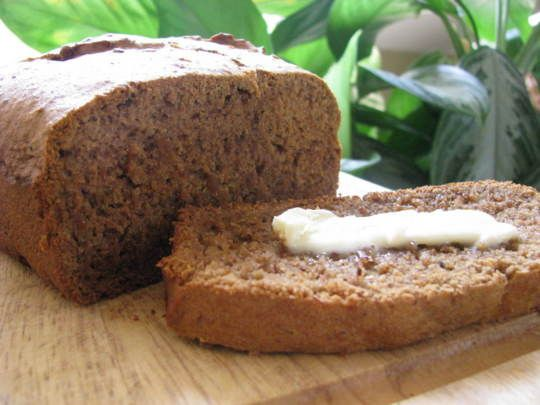 Moist and tasty gluten free, egg free, dairy free, soy free, yeast free Quick Bread.