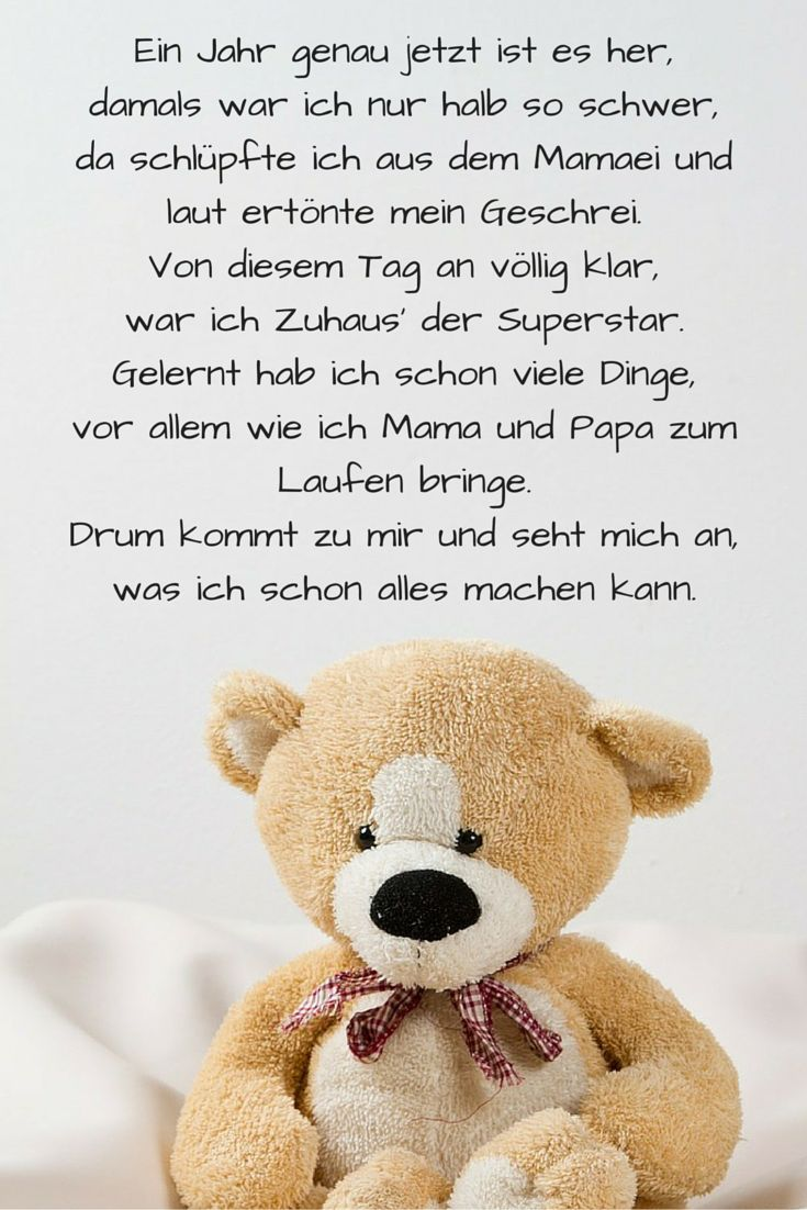 Die besten 25+ 1 geburtstag spruch Ideen auf Pinterest | Birthday greetings text, Happy birthday ...