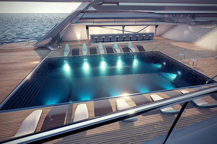Eco Catamaran Yacht Concept 3