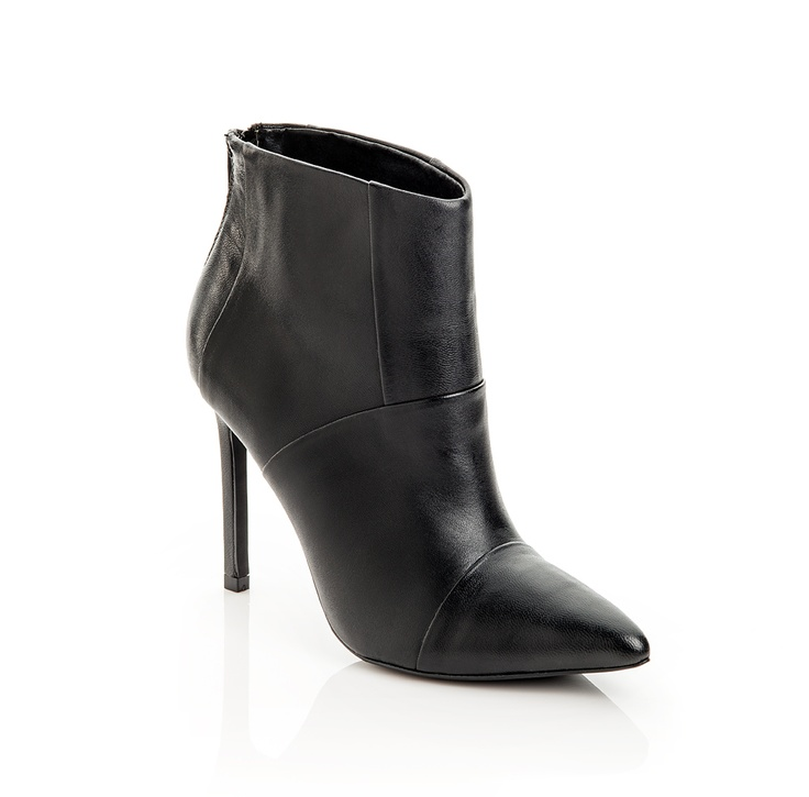 Abi pointed-toe bootie.