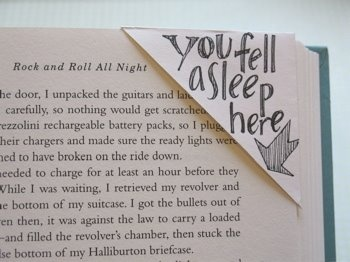 BookmarkerReading, Diy Bookmarks, Corner Bookmarks, Cute Ideas, Cute Bookmarks, Fell Asleep, Things, Book Mark, Crafts