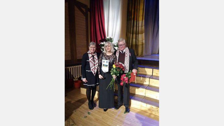 """Lions Club Ljugarn mottagit pris som """"Årets välgörenhetsorganisation 2017"""", av Kandavas Kommun I Lettland"""