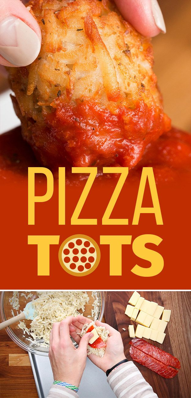 Pizza or tots? Now you never have to choose!