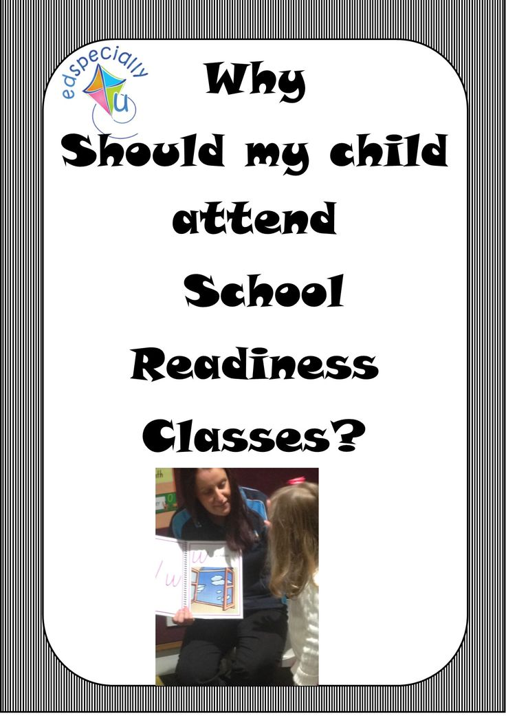 On the blog: information for parents about the benefits of our School Readiness Classes