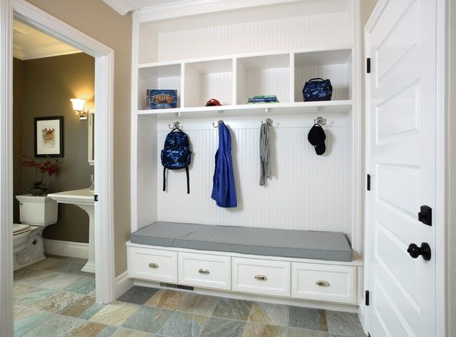 23 best images about mudroom ideas on pinterest basement for Bathroom mudroom combo