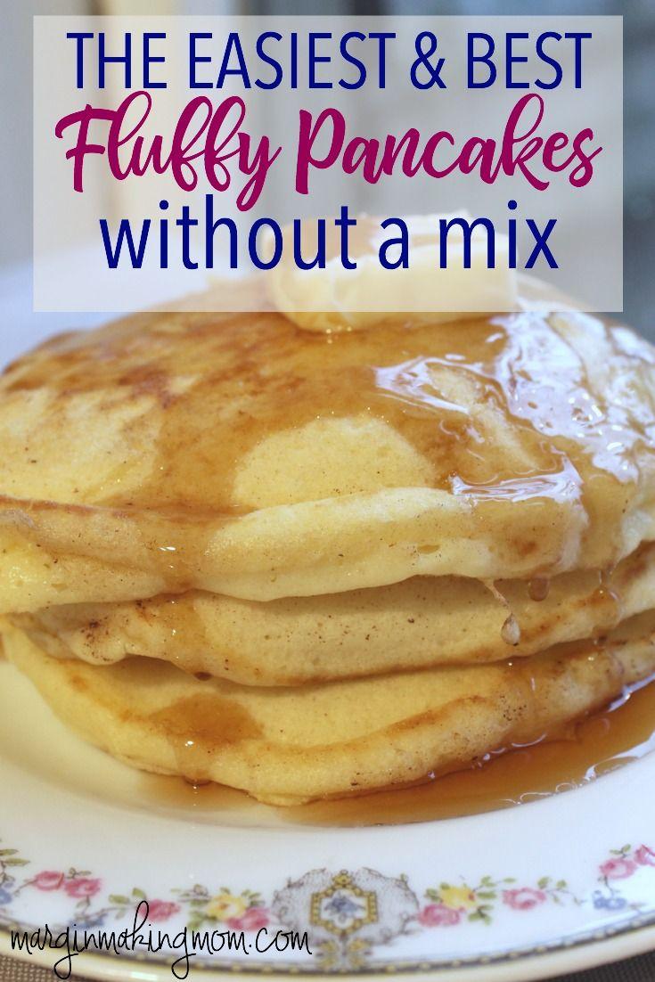 Plant Based Breakfast Pancakes