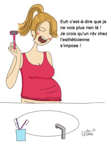 Esthéticienne et grossesse