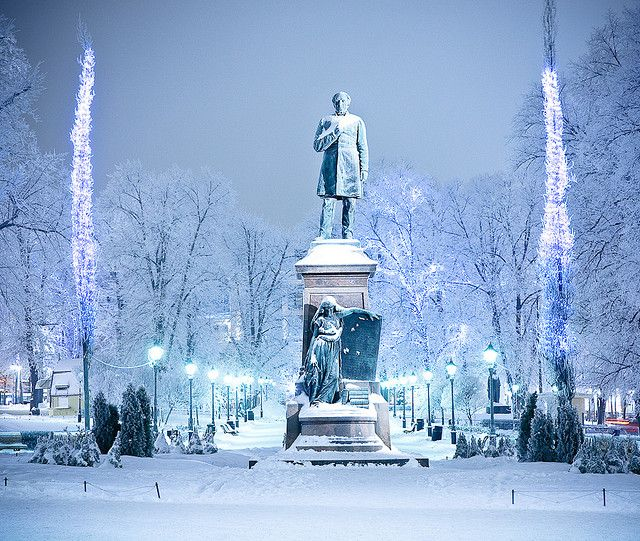 Esplanade Park, Helsinki #ScanAdventures