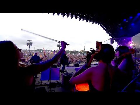 Wild West Hero Jeff Lynne's ELO Live with Rosie Langley and Amy Langley, Glastonbury 2016 - YouTube