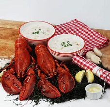 Buy a live lobster Boston dinner package direct from LobsterAnywhere. Maine lobster and clam chowder for for lobster lovers - USA delivery guaranteed. - $139.00–$239.00  www.teelieturner.com