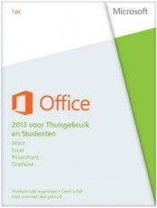 MICROSOFT OFFICE HOME&STUDENT 2013 NL  Word, Exel, PowerPoint &OneNote