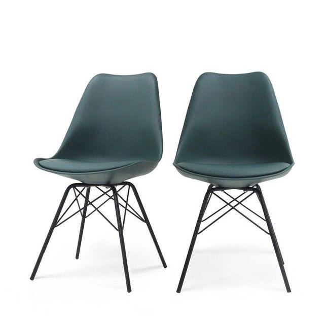 lot de 2 chaises design ormond light