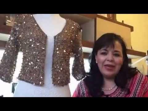 CHAQUETA O SACO TEJIDO TIFANY - Agujas fácil y rápido - Tejiendo con LAURA CEPEDA - YouTube