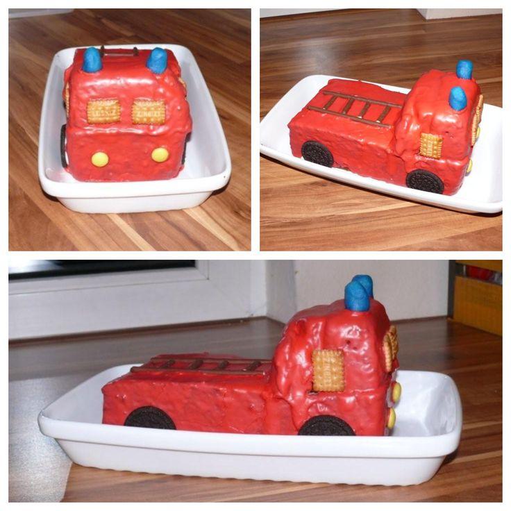 Feuerwehrkuchen / Firetruckcake