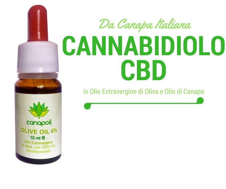 """Cannabidiolo, il principio attivo """"buono"""" della Canapa usato per salute e benessere"""