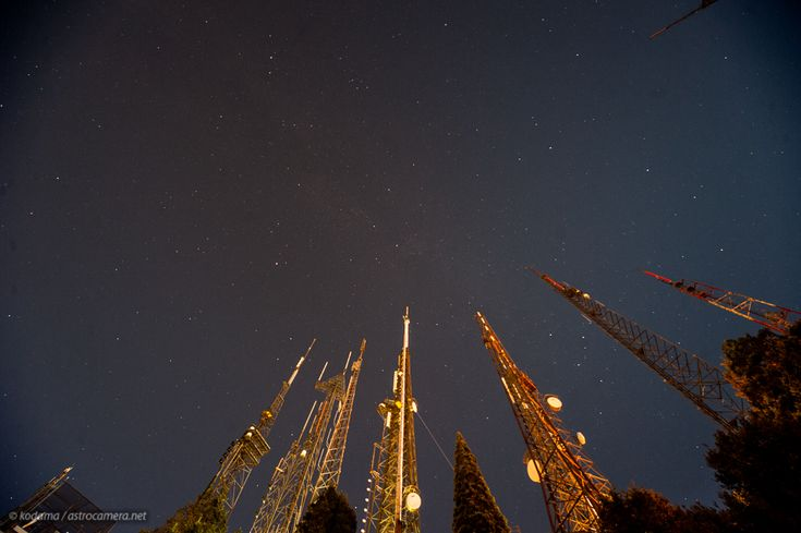 Broadcasting to the Stars - Mt. Wilson, CA (2012)