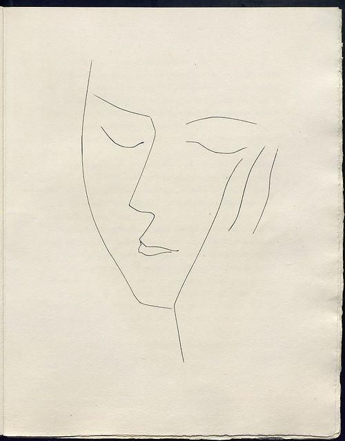Picasso...this is so simple but so emotional and powerful...just a few lines