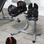 Bowflex SelectTech 552 Adjustable Dumbbell Set - 5-52 lbs.