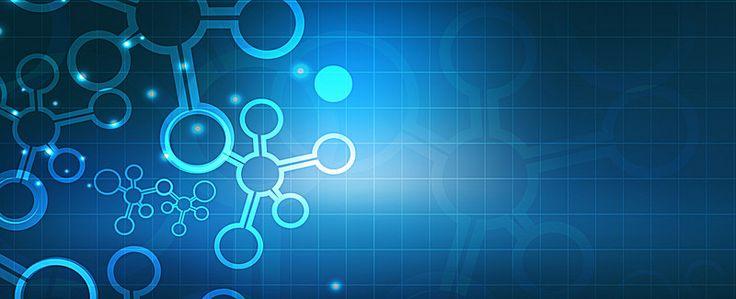 A estrutura química do feixe de Luz Azul de Fundo de ciência e tecnologia cool banner, Technology, Química, A Estrutura, Imagem de fundo