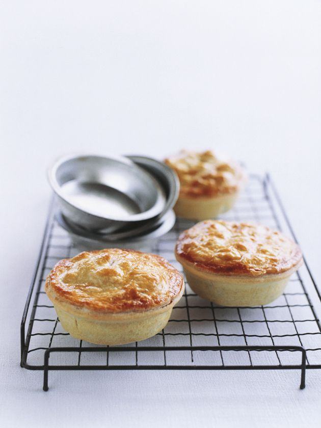 meat pies Judith's comment: my husband is from London...how British can one get...!   he loved this recipe.
