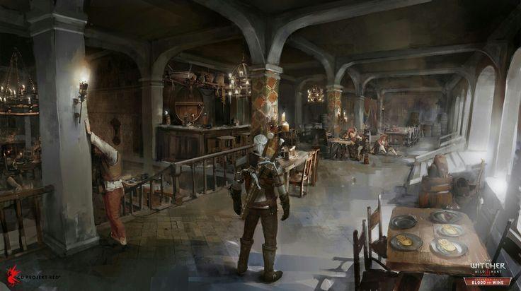 The Witcher 3:Wild Hunt - Blood&Wine Inn