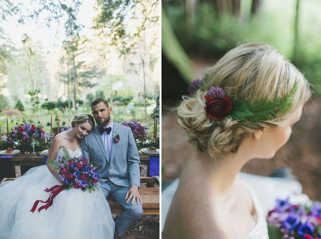 Fairytale Jewel-Toned Wedding Inspiration | Green Wedding Shoes Wedding Blog | Wedding Trends for Stylish + Creative Brides