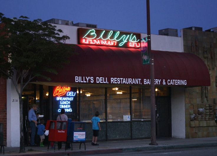 Billy's Delicatessen, Glendale, California. Our favorite lunch place when I was a kid