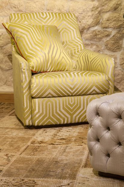 BROCHIER new #textile collection DIVA at Deco Off 2014.  http://brochier.it/fabrics/collections/diva/