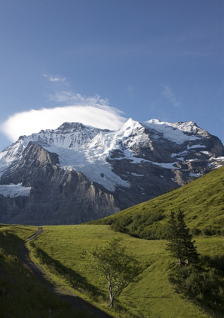 Jungfrau, Switzerland... went there when i was 11...