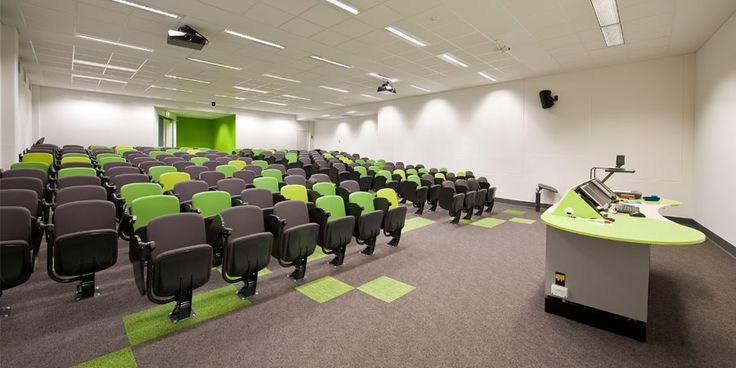 University Interior Design Chapman Lecture Theatre
