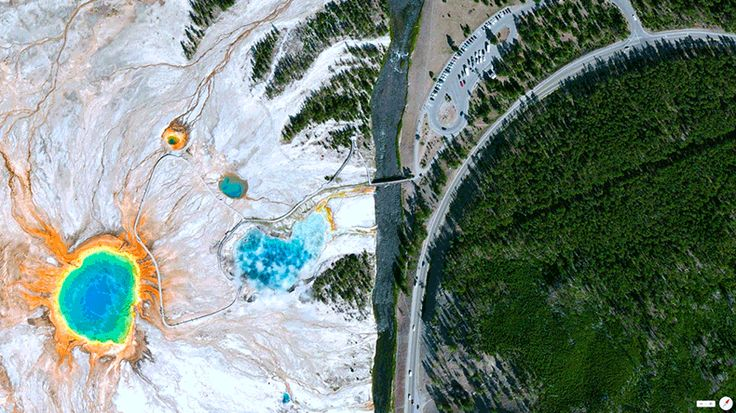 Foto mozzafiato: USA: Parco Nazionale di Yellowstone - Grand Prismatic Spring