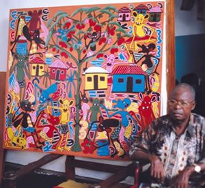 George Lilanga - Exclusive Auction Sale