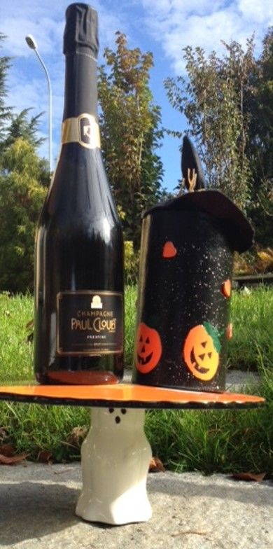Halloween with Champagne Paul Clouet Grand Cru Bouzy www.the-champagne.ch